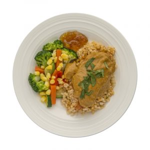 Curried Chicken Entree