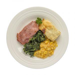 Ham & Spinach Entree